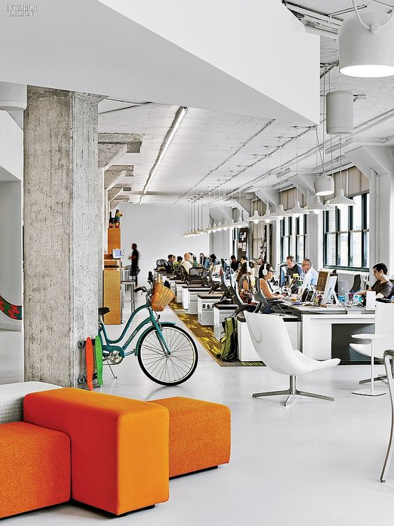 The Creative Class: 4 Manhattan Tech and Media Offices | Projects | Interior Design http://www.interiordesign.net/projects/detail/2437-the-creative-class-4-manhattan-tech-and-media-offices/