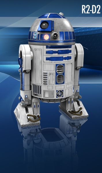 Build your own website and star wars film on pinterest - Robot blanc star wars ...