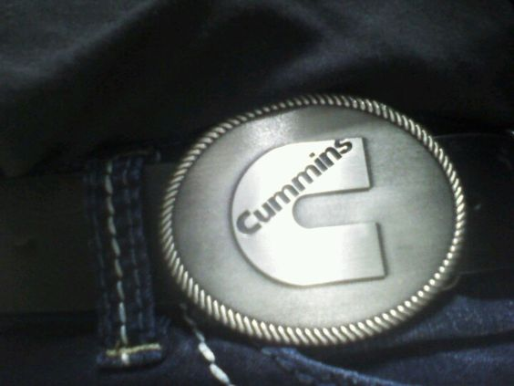 Vivian's new belt buckle