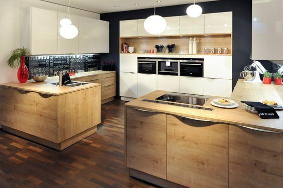 Küche - Eiche \/ EWE Kitchen Pinterest Kitchens, House and - kche eiche