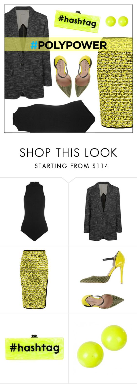 """What's Your Power Outfit?"" by danielle-487 ❤ liked on Polyvore featuring Fleur du Mal, Étoile Isabel Marant, rag & bone, Tipe e Tacchi, Edie Parker, Alexis Bittar and PolyPower"
