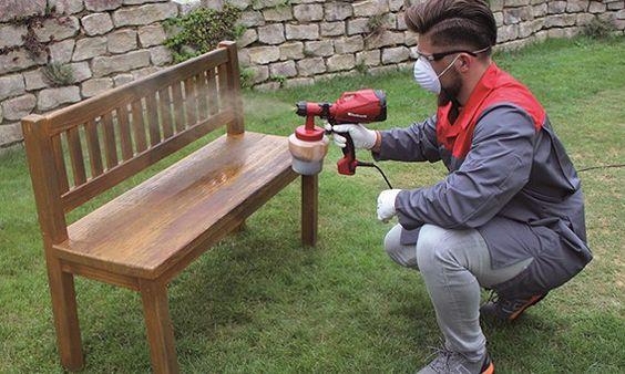 Nouveaux produits bâtiment : Pistolet à peinture électrique Einhell TC-SY 500 P Indispensable pour tout ripoliner du jardin à la maison
