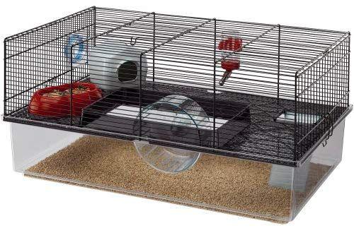 Amazon Com Ferplast Hamster Cage Black Gateway Cool Hamster Cages Hamster Cage Dwarf Hamster