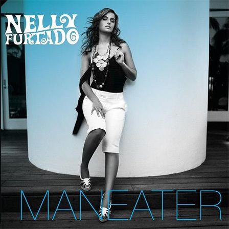 Nelly Furtado – Maneater (single cover art)