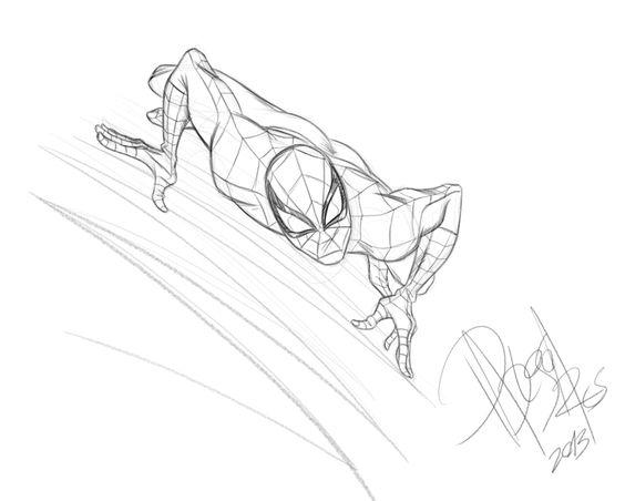 Spidey sketch