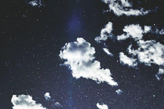 #stars #clouds
