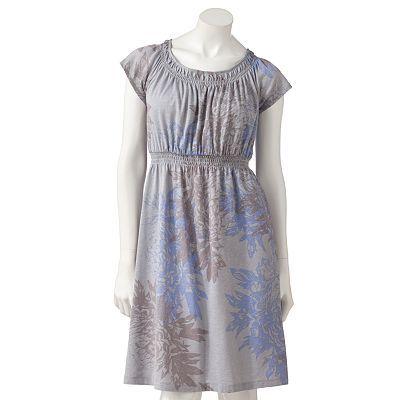 Floral Smocked Dress