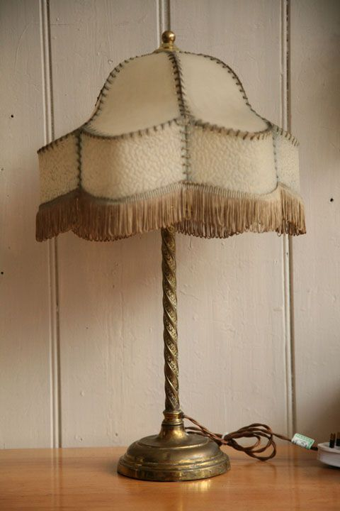 1930s Vintage Table Lamp Vintage Table Lamp Lamp Table Lamp