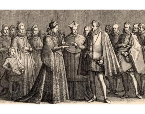 In elizabethan times why did the father choose who the daughter was going to marry?