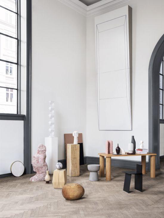 Table Et Piedestal Contemporary Home Decor Contemporary