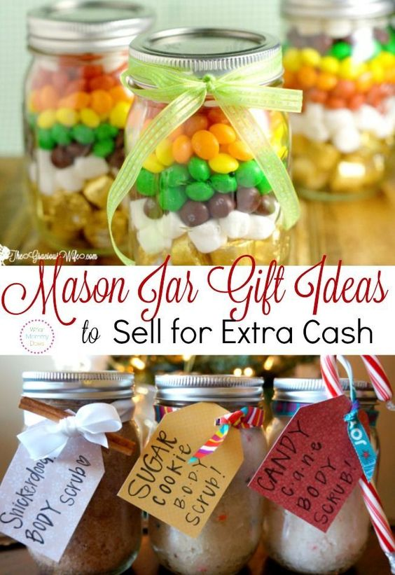 Extra cash extra money and mason jar gifts on pinterest for Gifts to sell from home