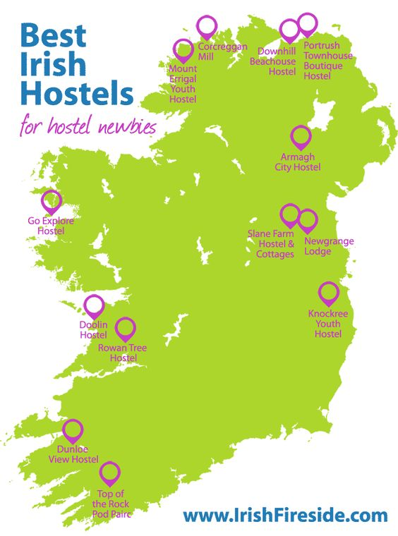 Great list of boutique Irish hostels... these places might surprise you!