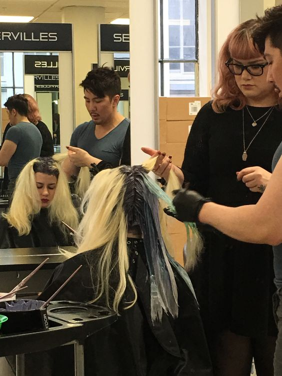 Prepping models! Olaplex World Tour with Guy Tang - New Zealand