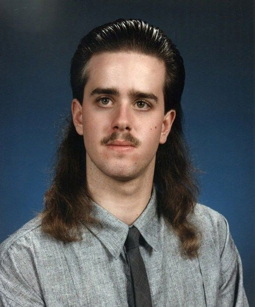 Peinados 80s Hombres