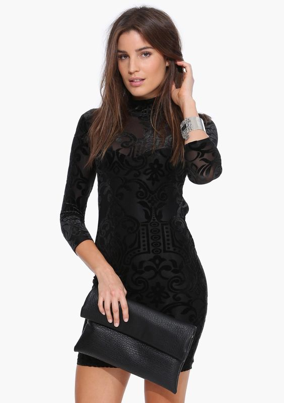 Got The Scoop Little Black Dress in Black | Necessary Clothing