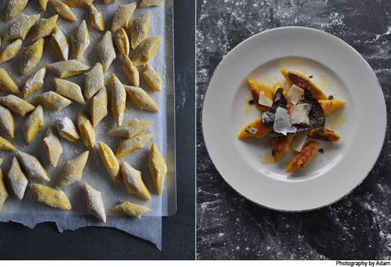 Pumpkin gnocchi, Gnocchi and Pumpkins on Pinterest