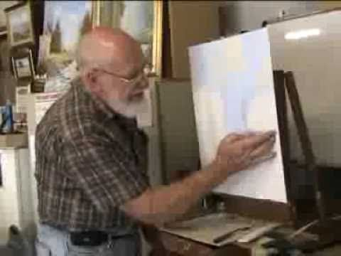 How to  Finger Paint  by Dennis Clark of the Paint Basket