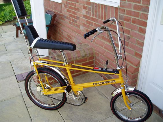 Oh my - the happy memories on my bike LOL ... had one just like this... Raleigh Chopper Bicycle