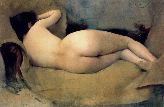 Desnudos femeninos, de Ramon Casas i Carbó