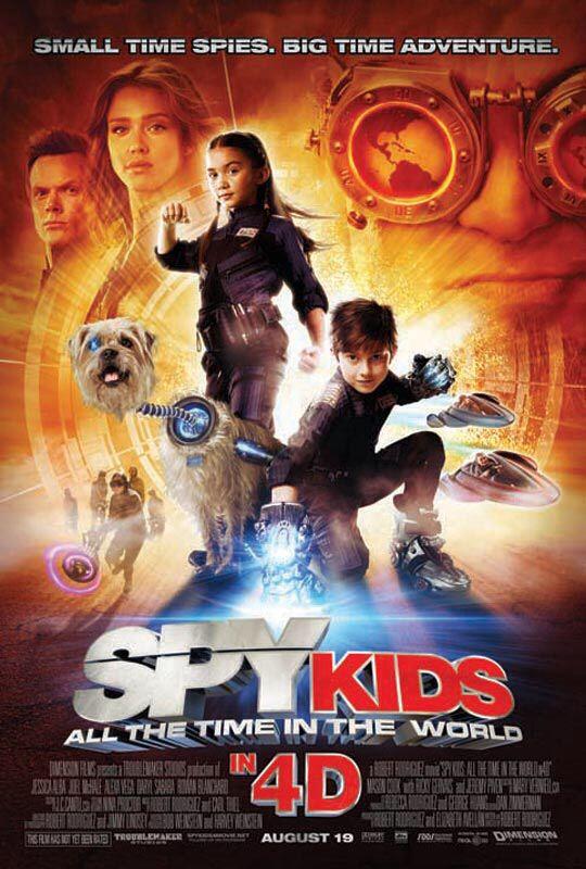 Spy Kids All The Time In The World See The Trailer Http Trailers Apple Com Spy Kids Movie Spy Kids Spy Kids 4