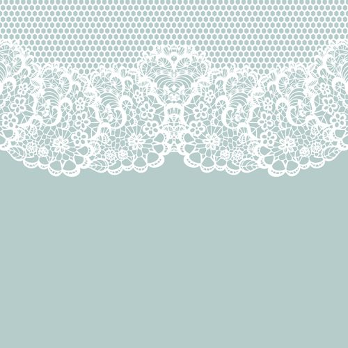 elegant white lace vector background 02 vector
