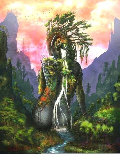 Mother Nature Fantasy Art Photo 17 Mother Nature Fantasy Art Photo 17 Mother Nature Fantasy Mother Nature Tattoos Mother Nature Goddess Nature Tattoos