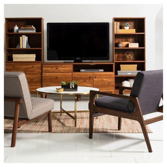 Marlton Round Coffee Table Threshold Scandinavian Interior