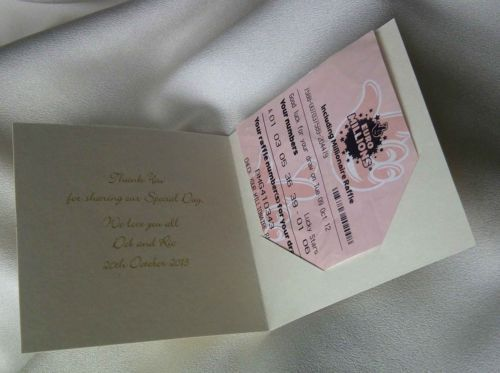 Lottery Ticket Envelopes Wedding Favors Image collections - Wedding ...
