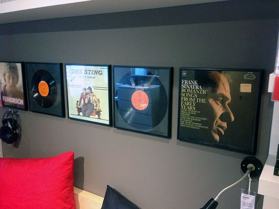 vinyl album frames ikea. Black Bedroom Furniture Sets. Home Design Ideas