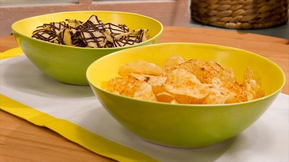 """Crabby"" Potato Chips Recipe : Food Network"