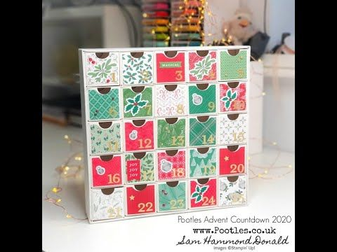 1 Stampin Up Uk Demonstrator Pootles Pootles Advent Countdown 2020 Advent Calendar Christmas Countdown Kit In 2020 Advent Christmas Countdown Advent Calenders