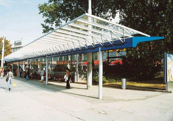 Paradas de autobus-marquesinas | terminal Sitema de pergola. Check it on Architonic