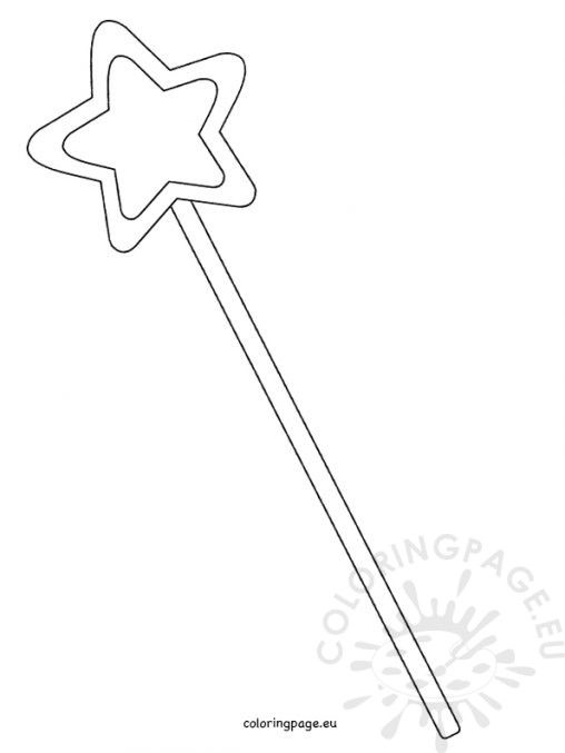 Fairy Wand Coloring Pages Birthday Coloring Pages Fairy Coloring Pages Coloring Pages