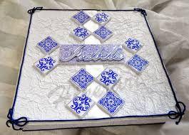 bolo com estampa de azulejo - Pesquisa Google