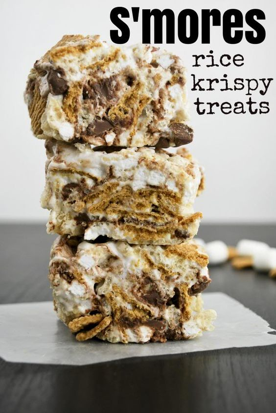 Mallow and Co: S'mores Rice Krispy Treats