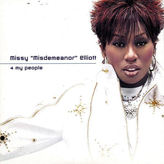 Missy Elliott, Eve –  4 My People (single cover art)