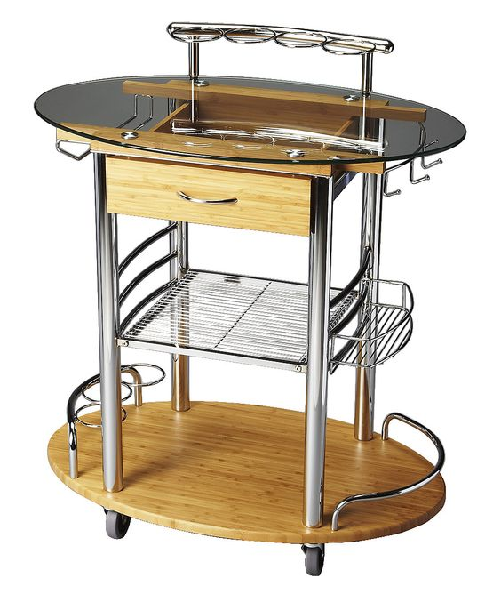 Look at this Modern Bar Cart on #zulily today!