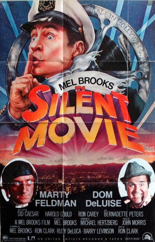 Silent Movie 1976 Original Us 24 5x37 5 Record Etsy Silent Movie Mel Brooks Movies Best Movie Posters