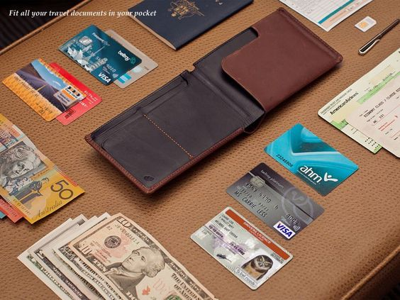 Travel Wallet - Slim Leather Wallets by Bellroy