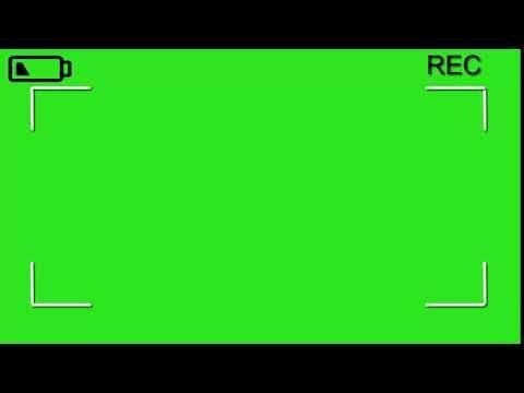 Rec Camaras Efecto Pantalla Verde Youtube First Youtube Video Ideas Intro Youtube Greenscreen