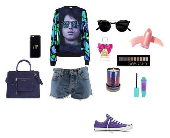 """""""#here-we-go"""" by mihan22 on Polyvore featuring Emilio Pucci, Levi's, Converse, Marc Jacobs, Tom Dixon, Forever 21, Elizabeth Arden, Juicy Couture and Casetify"""