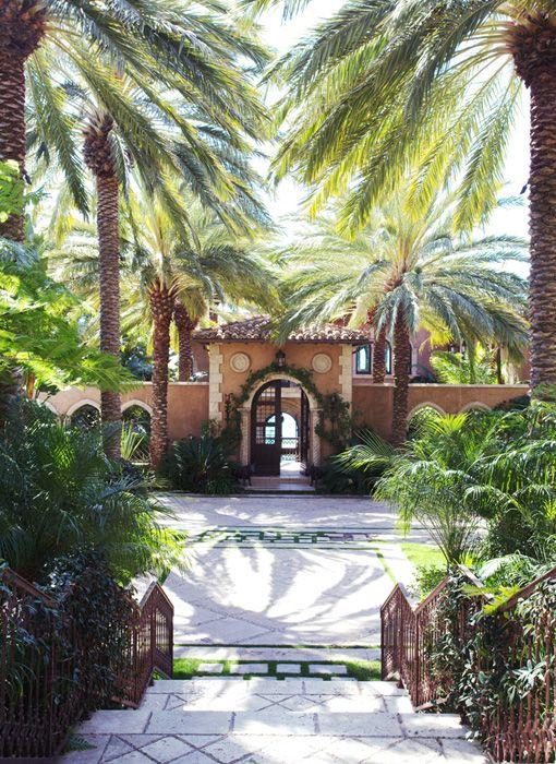 Work Of An Artist Martyn Lawrence Bullard Gardens