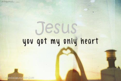 I give everything I have to You, my Savior, because you gave it to me first.  -We love Him because He first loved us. (1 John 4:19 NKJV)