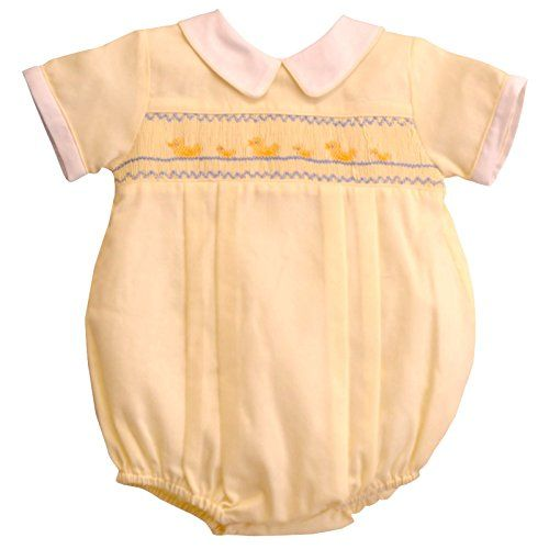 Baby Romper - Yellow Duck - Summer (9 Months) Carriage Boutique http://www.amazon.com/dp/B00U0IV984/ref=cm_sw_r_pi_dp_d.Luwb1GK9XQJ