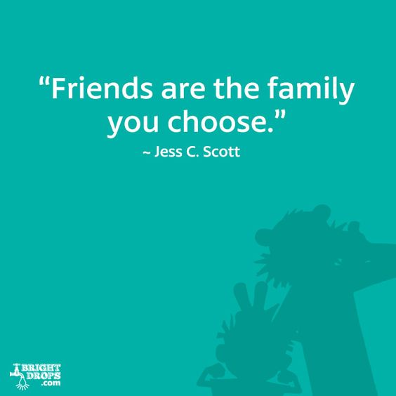 Family We Choose Quotes: Best Friend Quotes, Friends And The Family On Pinterest