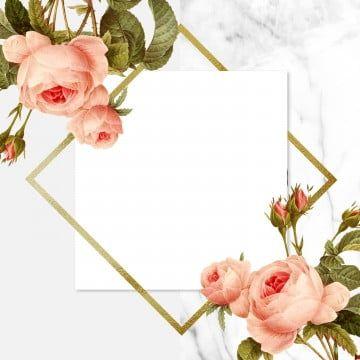 Beautiful Vintage Floral Frame Rose Frame Blooming Png Transparent Clipart Image And Psd File For Free Download Vintage Floral Frame Floral Frame Png Framed Botanicals