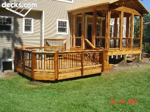 Pinterest the world s catalog of ideas for Multi level patio designs