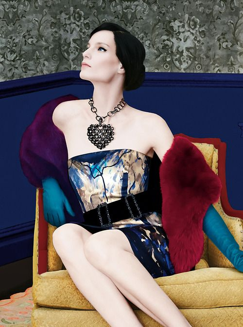 Art of Fashion featuring Lanvin. Photographed by Erik Madigan Heck.