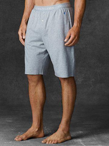 Cotton Jersey Sleep Short - Underwear, Sleepwear & Socks Polo Ralph Lauren - Ralph Lauren UK