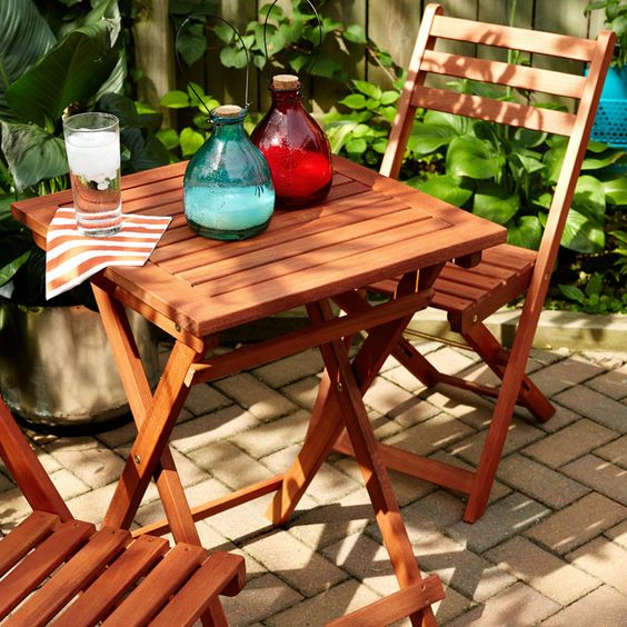 So your deck fits roughly two-and-a-half people. So what? Make space for style.